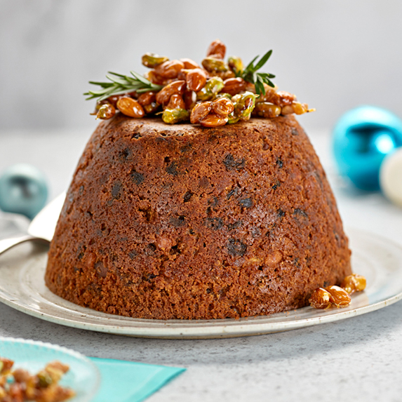 Christmas Pudding with Nuts
