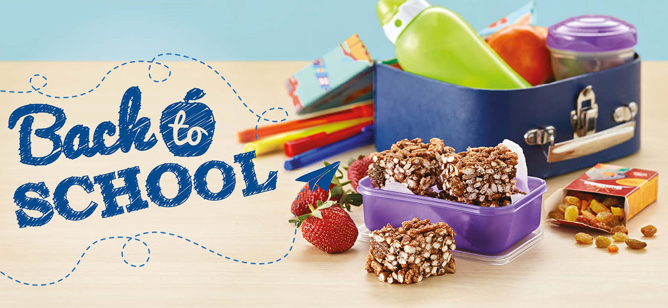 Sunbeam Foods Back To School Banner