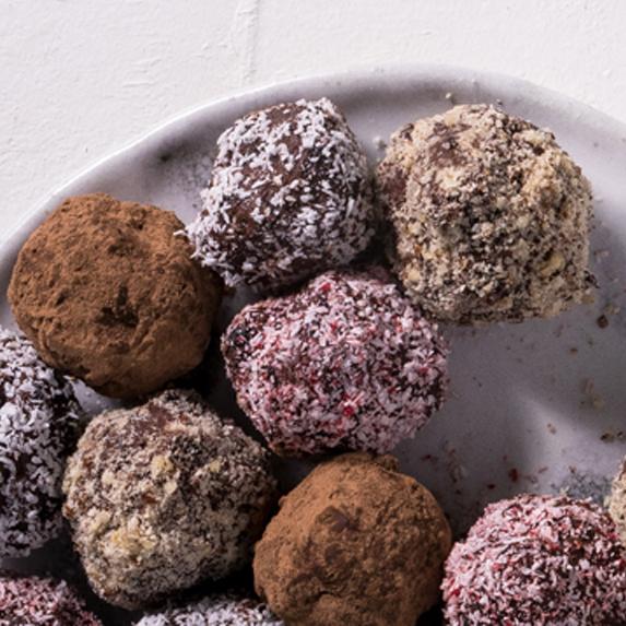 Chocolate Fruit Truffles