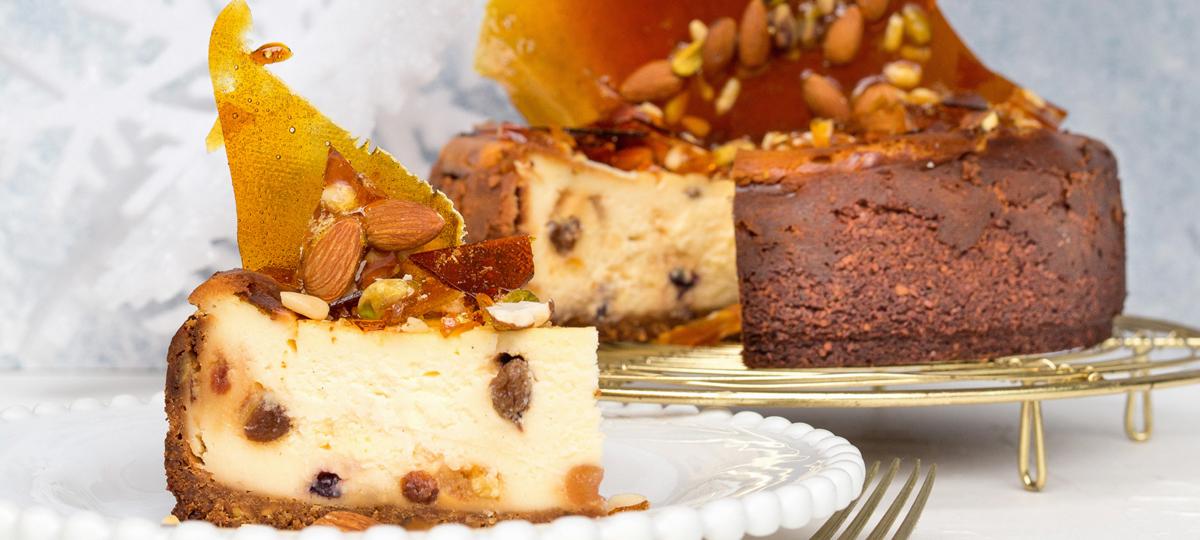 Christmas Cheesecake.Christmas Cheesecake Sunbeam Foods